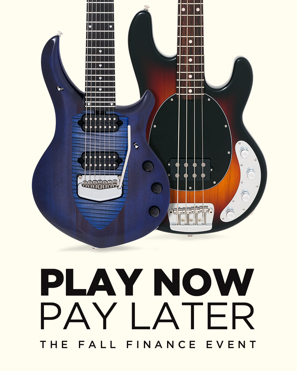 Ernie Ball Music Man Fall Financing Event