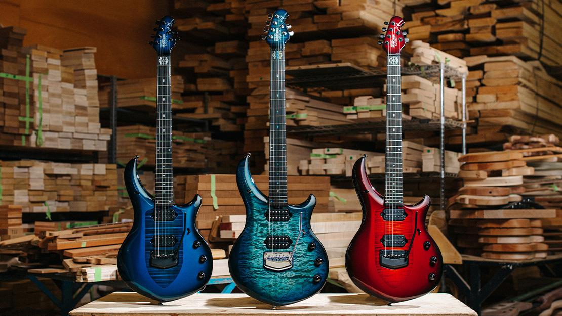 The Majesty | Guitars | Ernie Ball Music Man
